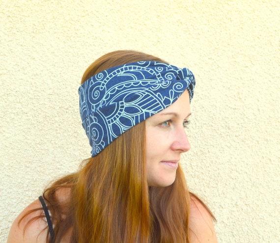 Tribal headband-Twist headband-Ethnic headband-Ethnic  04764624a88