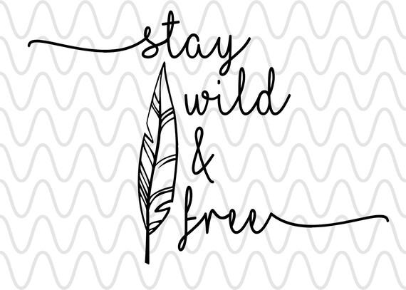 Soggiorno Wild & Free File di disegno in formato SVG, tagliare File  Silhouette e Cricut Boho Aztechi ai png pdf svg jpg eps dxf