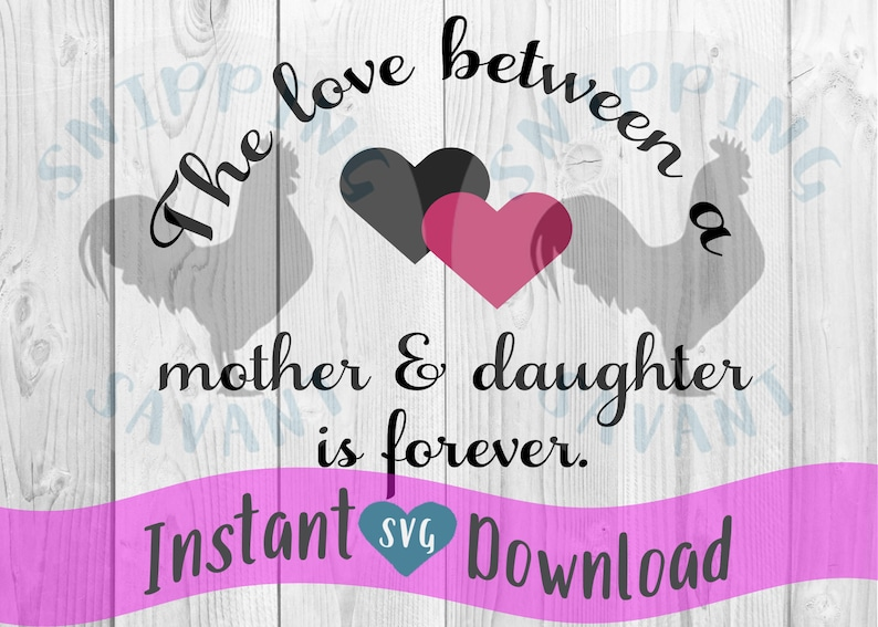 Mother Daughter SVG commercial use Like Daugher SVG Cut File Mom Gift printable vector clip art