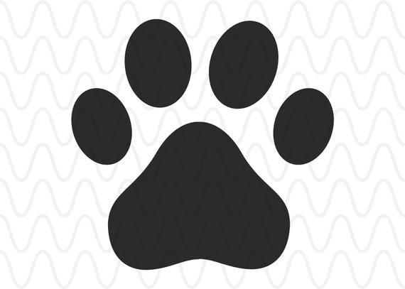 Paw Prints Monogram Svg: Dog Puppy Paw Pet Monogram SVG Cricut Silhouette Circles