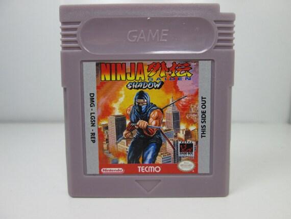 Fan De Ninja Gaiden Shadow Hizo Cartucho De Game Boy De Etsy