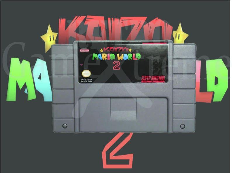 Kaizo Super Mario World 2 fan made hack for SNES Super Nintendo