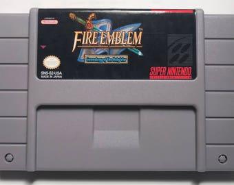 Fire Emblem Genealogy of the Holy War English translation fan made reproduction SNES Super Nintendo
