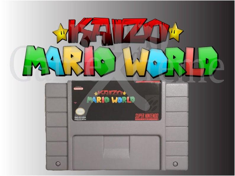 Kaizo Super Mario World fan made hack for SNES Super Nintendo