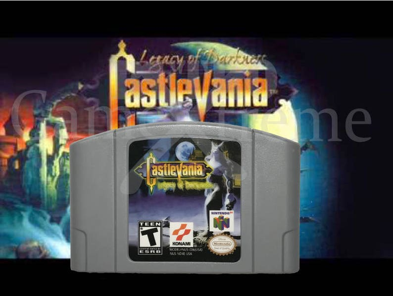 Castlevania Legacy of Darkness Fan made reproduction for Nintendo 64  NTSC  N64