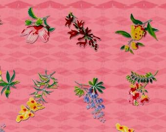 5 Designs Vintage Kitchen Flower Pink Print Instant Download Digital Sheet For Artwork, Collage, Journals, Scrapbooking, Paper Crafting