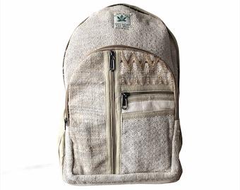 San Francisco Hemp Backpack  Laptop Backpack  Camera Backpack  Boho Backpack  Camera Bag