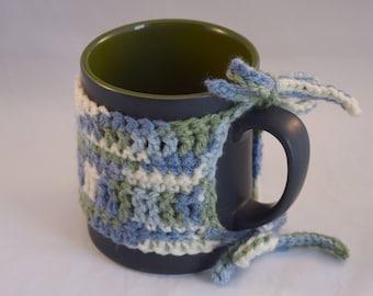 Crochet Java Jacket / Cup Sleeve / Cozy