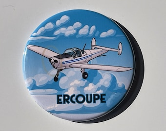 Parachuting  2.25 ButtonOpenerMirrorMagnet