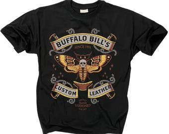 2f65d62bf Silence Of The Lambs T Shirt Buffalo Bills Custom Leather