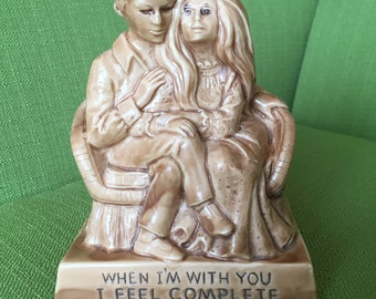 Vintage 70s W & R Berries Co 1971 When I'm With You I Feel Complete Figurine