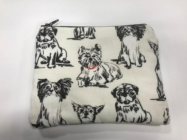 large coin bag Puppies coin bag coin purse coin bag zipper bag wallet iPhone bag
