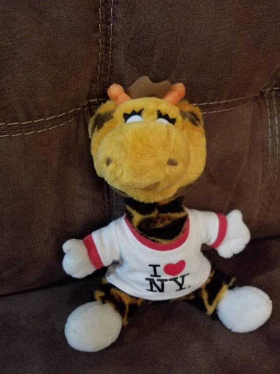 Toys R Us Geoffrey Giraffe Plush I Love New York Times Square Etsy