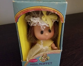 Vintage 1970s Miss Muffet Doll in Box