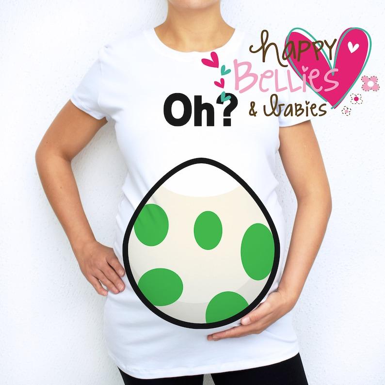 10ba7ae8c09fa Pokemon egg maternity shirt Oh Pokemon egg Pregnancy | Etsy