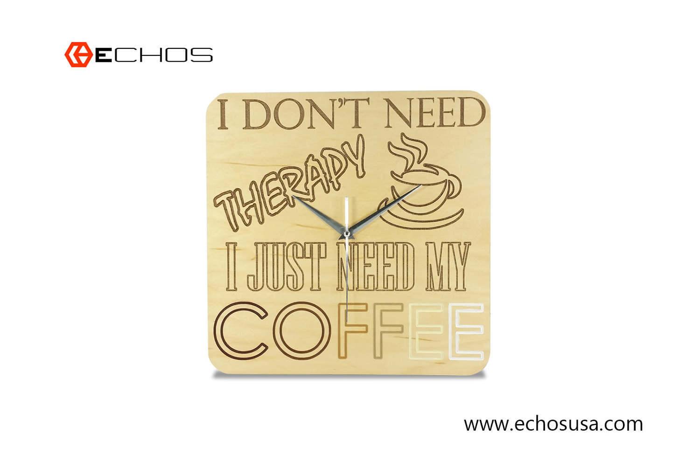 Kaffee Kaffee Kaffee Dekor Küche Dekor Kaffee Wanduhr | Etsy