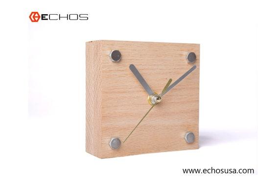 Horloge de bureau horloge de bureau moderne horloge de etsy