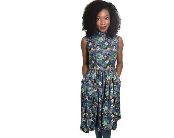 Midi Floral Dress | Vintage Dress| Floral Dress