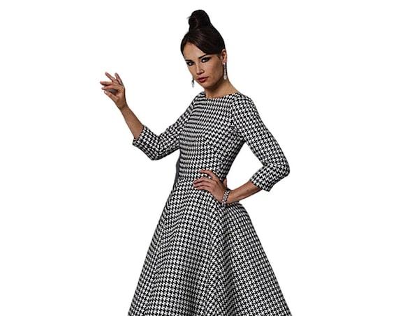 Vintage Dress, 1960s Dress, Retro Dress, Swing Dress