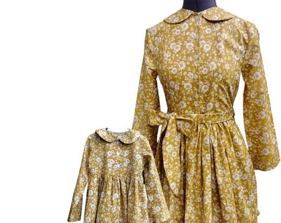 Mother Daughter Dress Set, Handmade by ElizabethJulianah