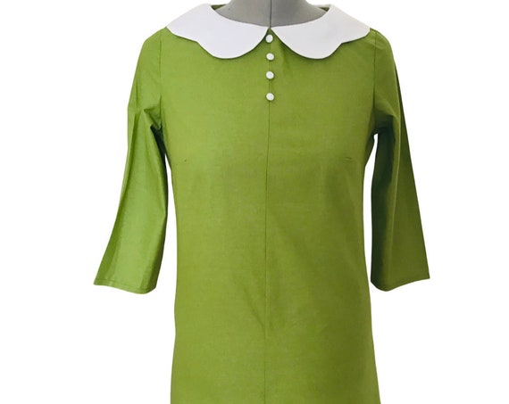 Vintage Dress | 1960s Dress | Retro Dress |1960s Mod Dress | Mini Dress