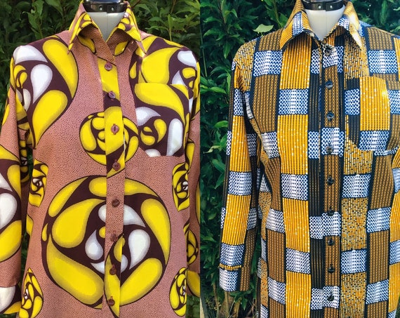 Shirt Dress | Summer Dress | African Print Dress