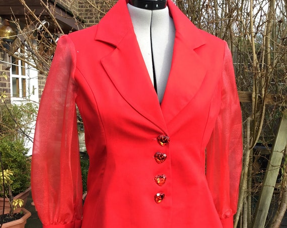 NEW IN: Trouser Suit/Blazer/Capri Trouser/Red Trouser Suit, Womenswear