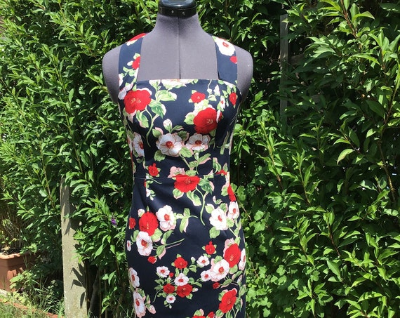 Vintage Dress | Halter neck Dress | Retro Dress | Vintage Reproduction  Dress |  Summer Dress