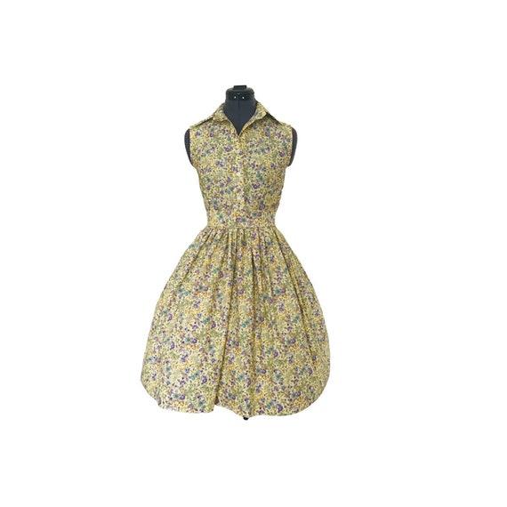 Vintage Dress | Cotton Dress | Dresses | Shirt Dress