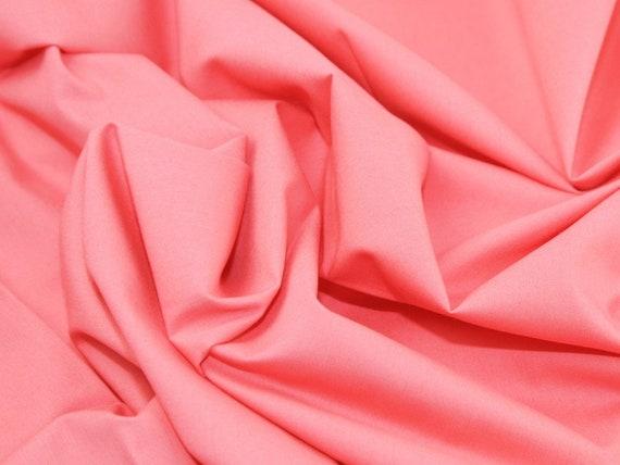 Blush Pink Cotton Fabric