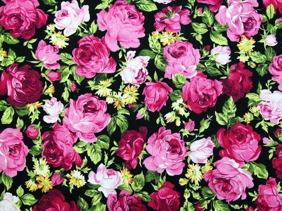 Floral Blue & Pink