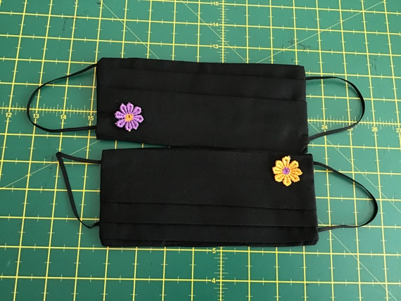 Reusable face masks filter sewn in