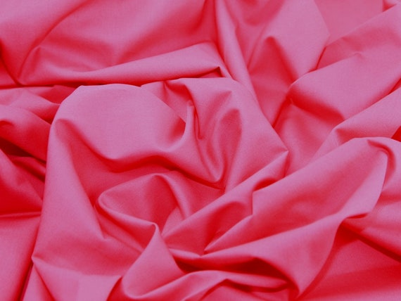 Cerise Pink Cotton Fabric