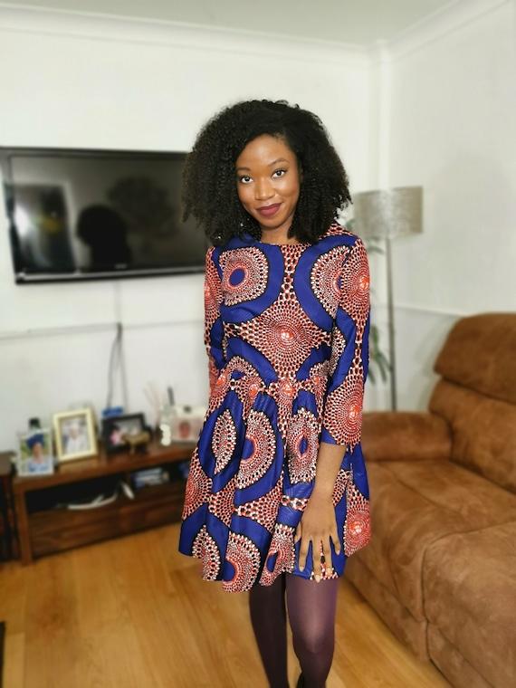 African Print Dress by ElizabethJulianah