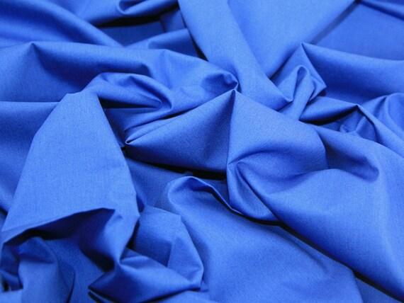 Royal Blue Cotton Fabric