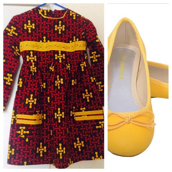 Ankara Dress for Little Girls/Girls dress, African Print Dress
