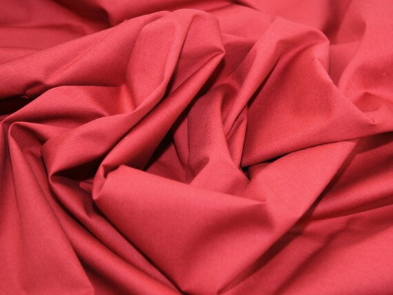 Claret Cotton Fabric