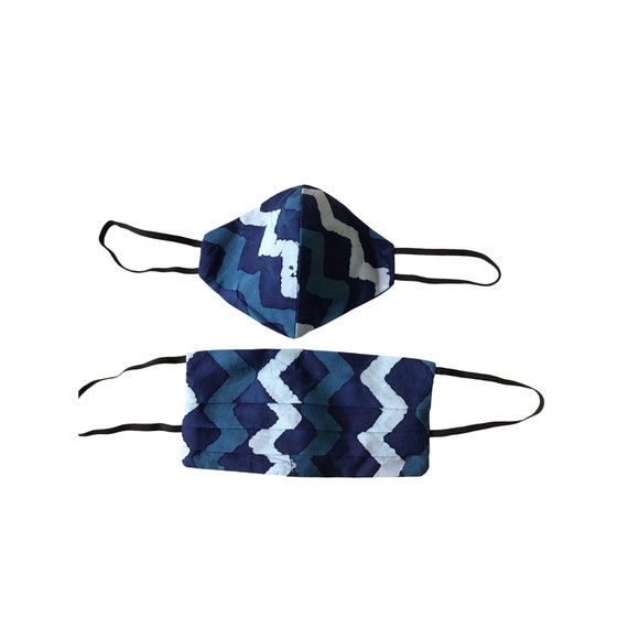 Reusable face masks filter sewn in | 3 Layer Mask | Cotton Face Mask |