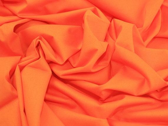 Orange Cotton Fabric