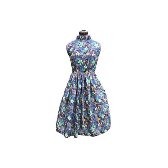 Vintage Dress| Summer Dress | Midi Dress | Cotton Dress | Floral Dress