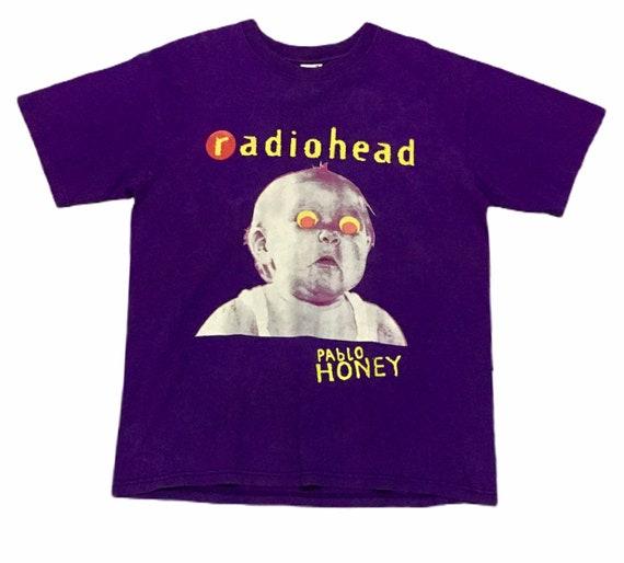 Rare Design Vintage Rock Band Radiohead Thom Yorke