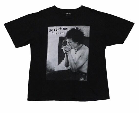 Rare Design Vintage Band Punk Sex Pistols Sid Vici
