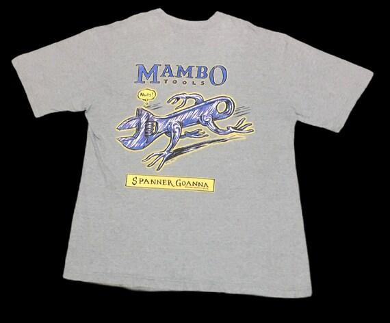 Rare Design Vintage Brand MAMBO Australian T-shirt