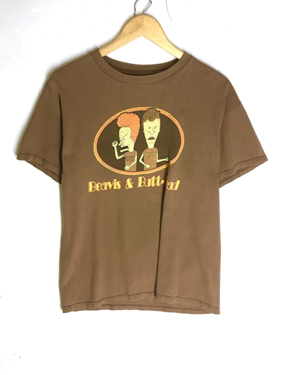 Rare Design Vintage Beavis And Butthead T-shirt 19