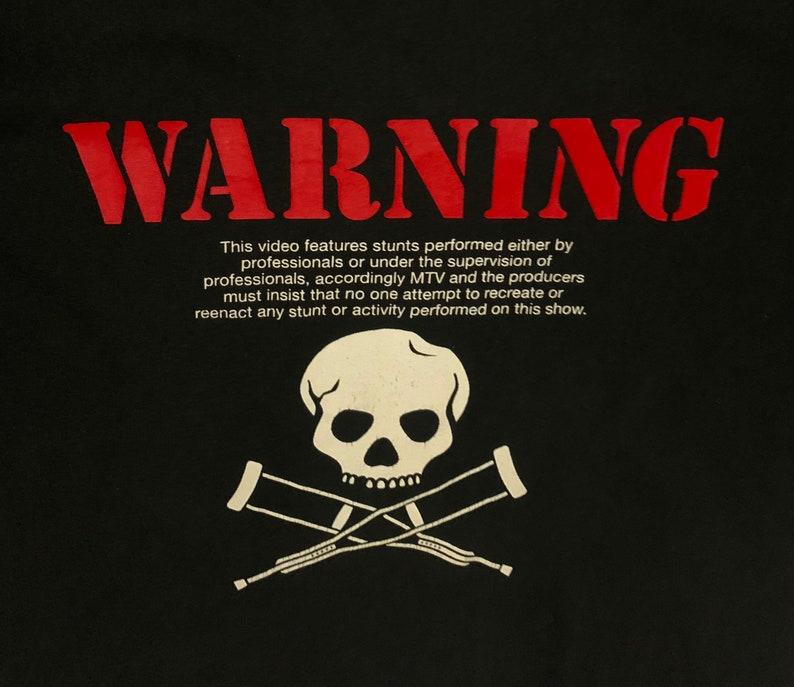 Rare Design Vintage Comedy Movie Jackass T-shirt 2000s