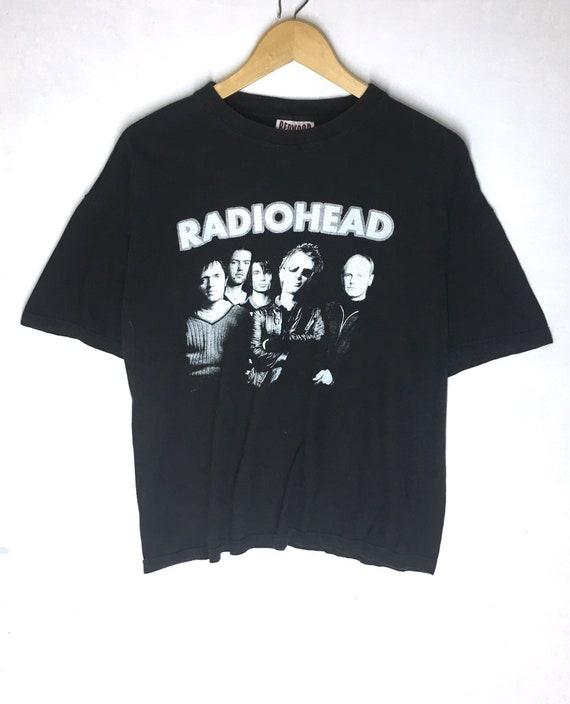 Rare Design Vintage Band Radiohead Big Image T-shi