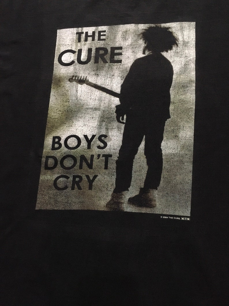 Vintage Rock Band The Cure Boys Don/'t Cry T-shirt 2000s