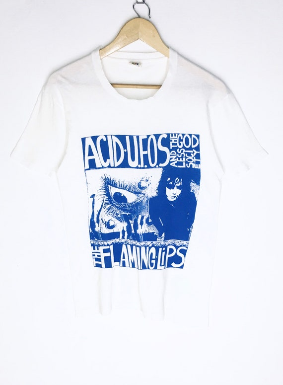Rare Design Vintage Band Rock The Flaming Lips T-s