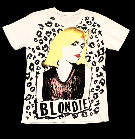 Rare Design Vintage Rock Band Blondie Debbie Harry