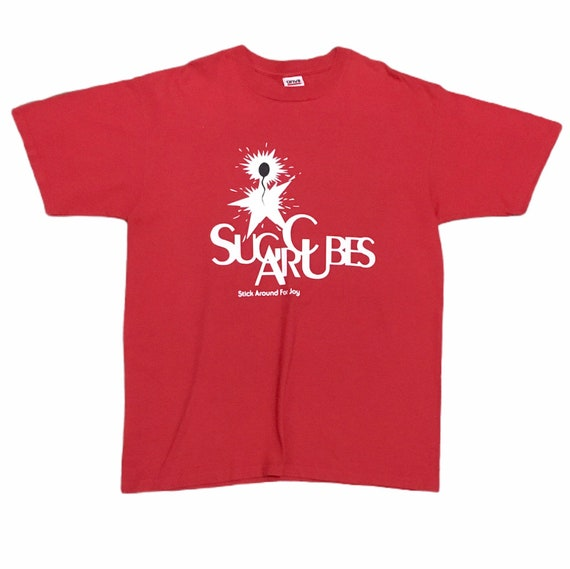 Rare Design Vintage Band Sugarcubes Bjork T-shirt